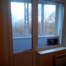 балконный блок с одним окном