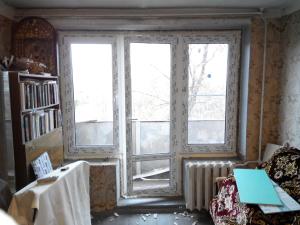 балконный блок (чебурашка) в процессе