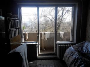 балконный блок (чебурашка) демонтаж
